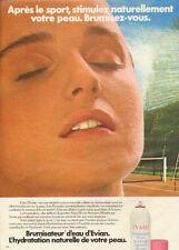 Publicité Advertising 1982   Brumisateur d'eau EVIAN hydratation naturelle