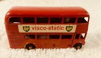 "VINTAGE LESNEY #5  ROUTEMASTER BUS VISCO-STATIC DIE-CAST ""NOT MATCHBOX SERIES"""