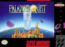 "Snes Super Nintendo Box Cover Paladin's Quest 2.5"" x 3.5"" Fridge Magnet"