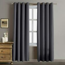 """New Listing2 Panel Blackout Curtains Thermal Insulated Window Room Darknening Draperies 96"""""""