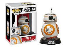 Funko Pop Star Wars 7 Bb-8 Droid Force Awakens Luke Skywalker Fiura in Vinile