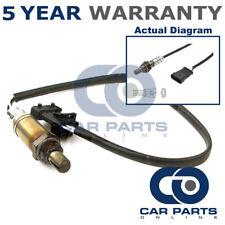 TRASERO 4 CABLES Oxígeno O2 Sonda Lambda Ajuste Directo Para Fiat Punto 1.8 (