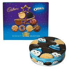 Cadbury Oreo Assorted Biscuit Cookie Selection Box Tin (1 Supplied)