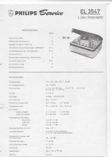 Philips Service Manual für EL 3547 - RK 36 deutsch Copy