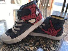 Marvel Spider-Man Converse Tennis Shoes Size 11.5 Boys