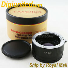 Camdiox Focal Reducer Speed Booster Leica R mount LR lens to Sony NEX Adapter 5R