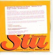 (585J) Boogaloo Stu ft Lucy Bundy, Hammer to Fall DJ CD