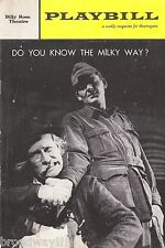 """Hal Holbrook """"DO YOU KNOW THE MILKY WAY?"""" George Voskovec 1961 FLOP Playbill"""