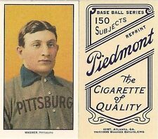 1909 T206 TOBACCO HONUS WAGNER PITTSBURGH PIRATES HOF ROOKIE REPRINT