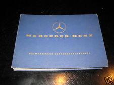 Teilekatalog Mercedes L 206 D / 306 D von 1973 607/608