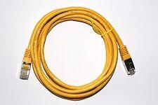 Câble réseau Ethernet RJ45 2m Cat 5e droit jaune – cordon 2 mètres Gigabit LAN