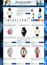 Watch Store - eBay, Amazon, Commission Junction Affiliate Website