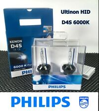PHILIPS Ultinon HID D4S 6000K TOYOTA Headlight 42402WX Bulb 2/Lot GERMANY #EWgtc