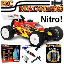 Fast Nitro Car RC Nitro Buggy Acme RC 4x4 1/16 Petrol Remote Control Off/On Road