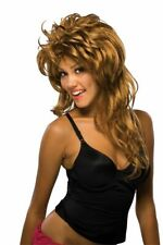 Adult Tina Turner Brown Rockin' Diva Costume Wig