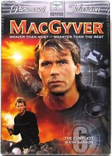 Macgyver The Complete Sixth Season 6 (Dvd, 6-Disc Set, 2006) >New<