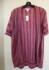 Dress Barn Open Draped  Sweater~Cardigan Size L