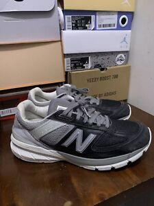 New Balance Men's 990 V5 Gray/black Running ShoesMade In USA Sz 11 Sneakers
