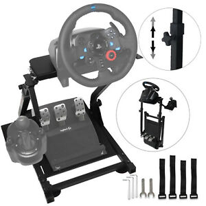 Racing Simulator Cockpit Steering Wheel Stand For G29 PS4 G920 Xbox Playstation