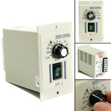 Input AC 220V Speed Controller Switch For 400W Motor Output DC 0-220V NEW