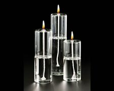 """10"""" Glass Oil Unity Candle Table Decoration Wedding Accessory"""