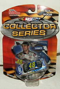 Racing Champions 2005 Collector Series Signed Autograph Jimmie Johnson Lowes Car