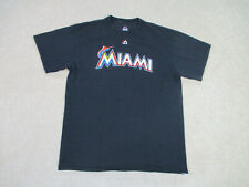Ichiro Suzuki Miami Marlins Shirt Adult Large Black MLB Baseball Japan Mens