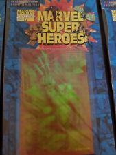 RARE Marvel Super Heroes Wolverine 3-D Sticker - 1996 Phantagram Holograms