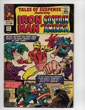 Tales Of Suspense 67 - Vg 4.0 - Iron Man - Captain America (1965)