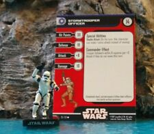 Star Wars Miniatures Alliance and Empire STORMTROOPER OFFICER #35,With Card.(a)
