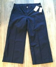 Joe's Jeans Gaucho Denim Trousers Pants Blair Mid Rise Wide Leg Crop Sz Waist 29