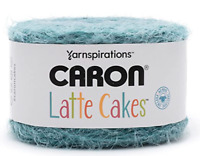 Caron Latte Cakes Yarn Grinding Teal 530 YARDS Yarnspirations 1 BALL w/ Pattern