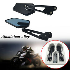 2*Aluminum Universal Rear Side Rearview Mirrors Motorcycle Scooter Anti Dazzling