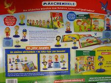 Märchenheld, Märchen zum hören und mitlesen, Hachette , Buch und Figur 1-8