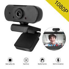 Webcam Auto-Focus Web Camera 1080P FULL HD Cam Microphone For PC Laptop Desktop