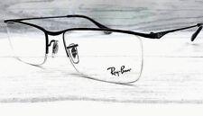 26164ad8d9 Ray Ban RX6370 2509 Brillante Negro Demo Lens 55mm Anteojos