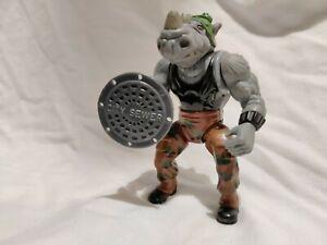 🤖 TMNT:Teenage mutant ninja turtles rocksteady vintage action figure playmates