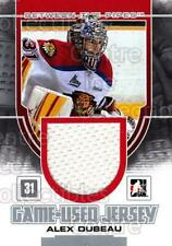 2013-14 Between the Pipes Jersey Silver #2 Alex Dubeau