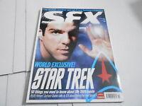 #175 SFX science fiction tv  magazine (UNREAD) STAR TREK