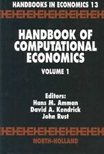 Handbook of Computational Economics: 1, , Used; Good Book