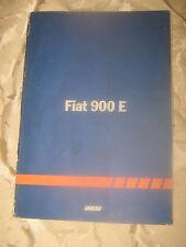 MANUALE ORIGINALE FIAT 900 E
