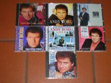"""""""CD"""" - Sammlung von 7 Stk. ANDY BORG"""