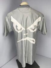 Life's A Beach / Bad Boy Club Surfgear Jersey 80s Vintage Silver Ringer Shirt