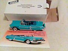 Danbury MINT 1958 Chevrolet Convertible, with BOX  &  DOCS