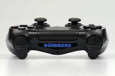 "PS4 Controller Light Bar LED Decal Aufkleber ""Nürnberg"""