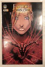 Aspen Comics FATHOM Dawn of War (0-3) & Cannon Hawke (1A & 1B)  comic lot.