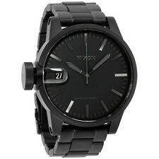 Nixon Chronicle A1981028 Black Dial Men's Stainless Steel Watch