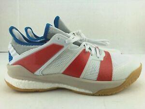 Adidas Stabil X Shoes Volleyball Handball Badminton White Mens B22571 Size 10M