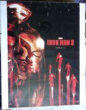 Iron Man 3 IMAX Marvel Poster Framed