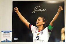 Alex Morgan Signed Autographed 11x14 Photo USWNT Soccer Team BECKETT COA 2
